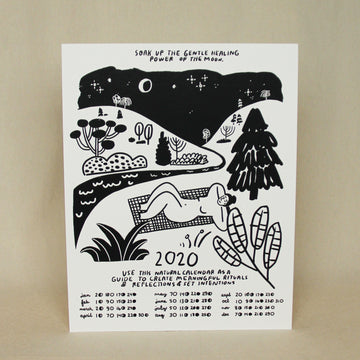 People I've Loved Moon Calendar