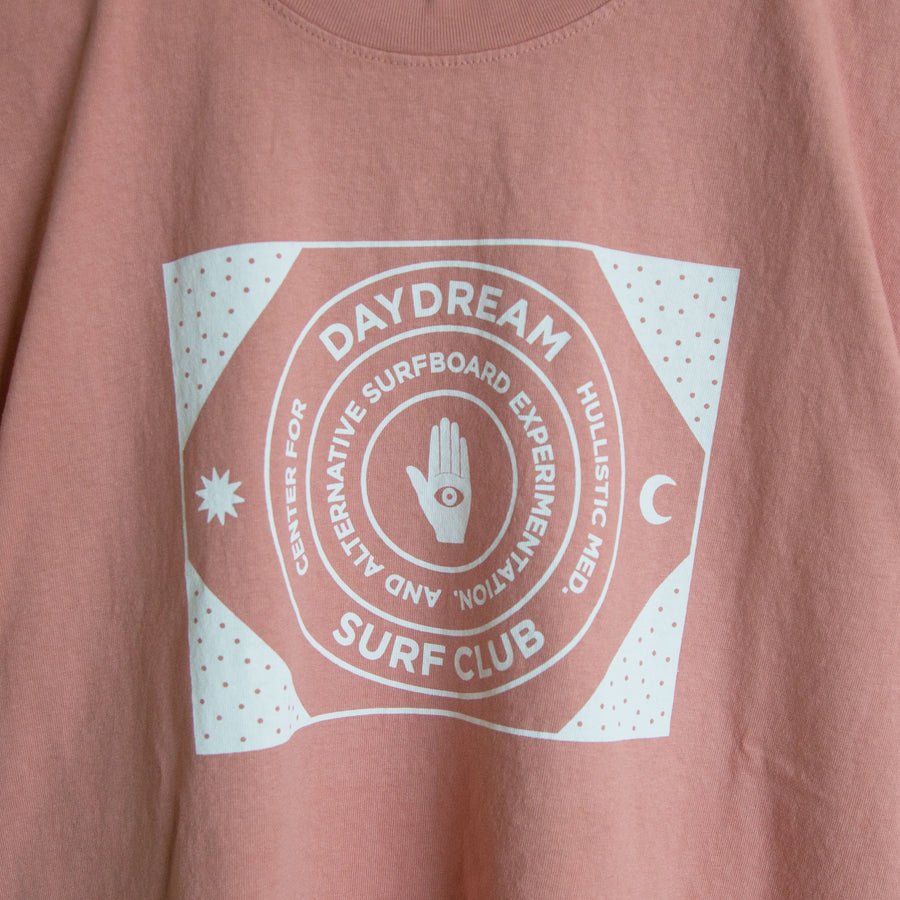 Dusty Rose Surf Club Tee
