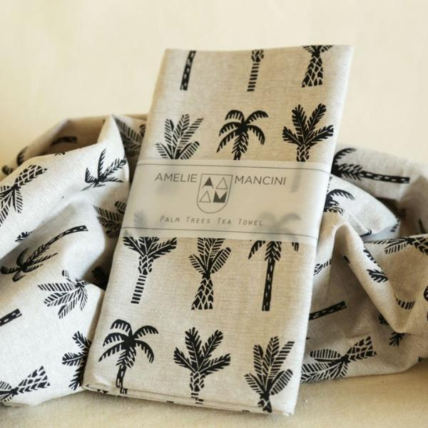 Palm Tree Tea Towel