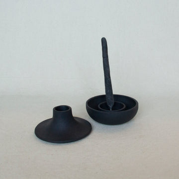 Areaware Cast Iron Candle Holder