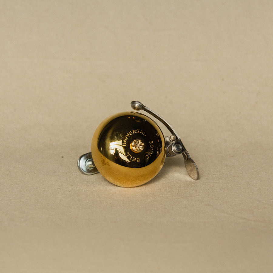 Universal Sound Bicycle Bell Gold