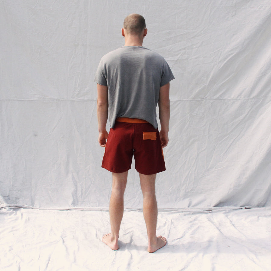 Gato Heroi Rust/Blood Surf Shorts