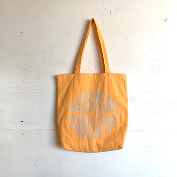 Daydream Orange Circle Tote