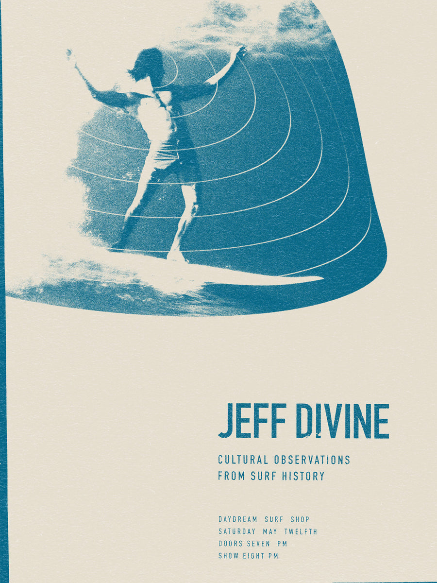 Jeff Divine Show Poster