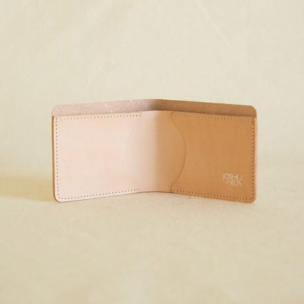 Natural Leather Billfold