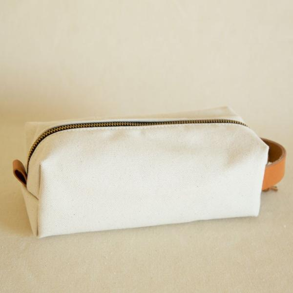 Natural Twill Dopp Kit