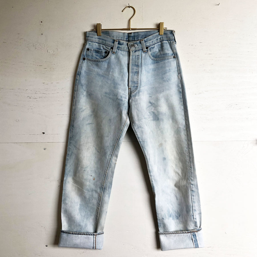 Vintage Levi 501 Light Wash Selvedge