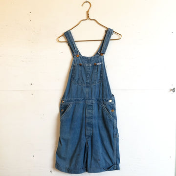 Short Lee Denim Overalls