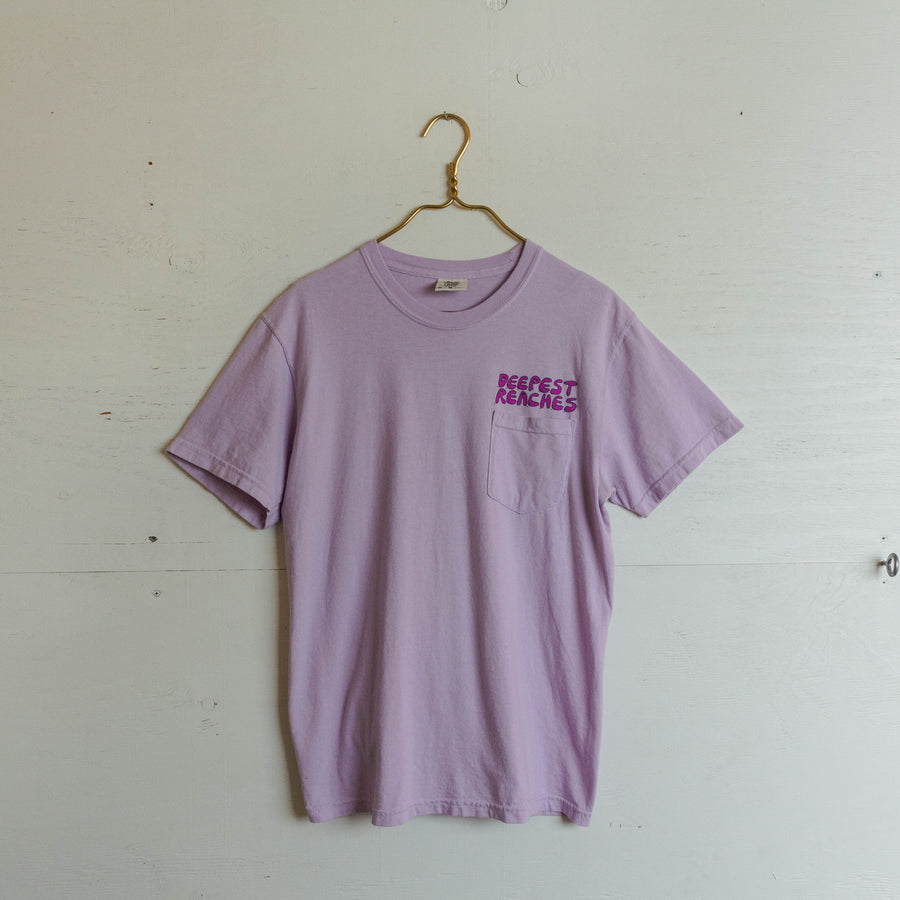 Deepest Reaches Purple Pocket Tee