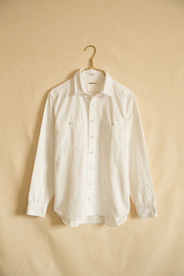 Taylor Stitch White Chambray Shirt