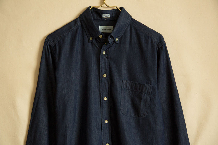 Sea Washed Denim Shirt