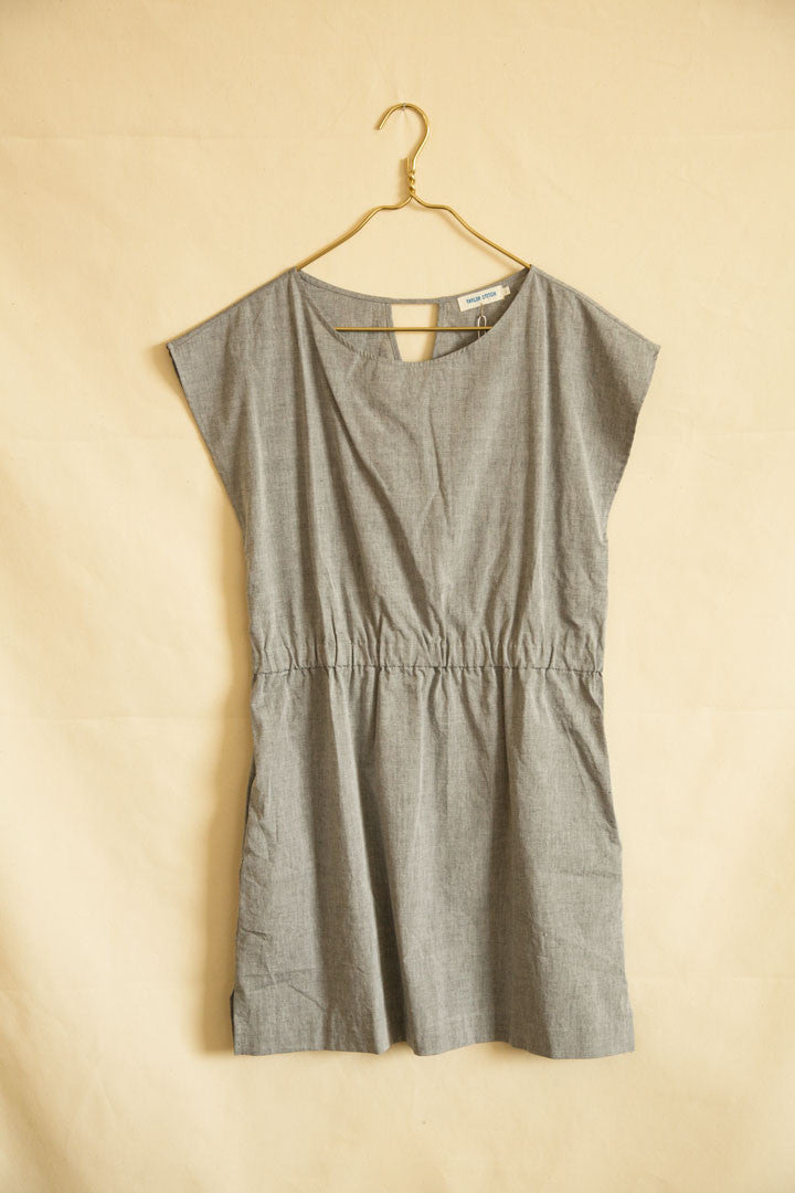 Taylor Stitch Charcoal Cotton Dress