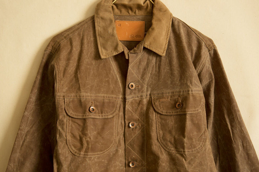 Tan Waxed Canvas Jacket