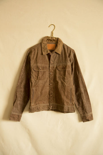 Taylor Stitch Tan Waxed Canvas Jacket