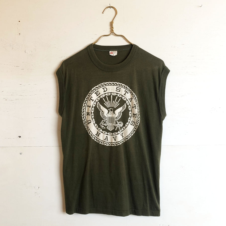 US Navy Sleeveless Tee