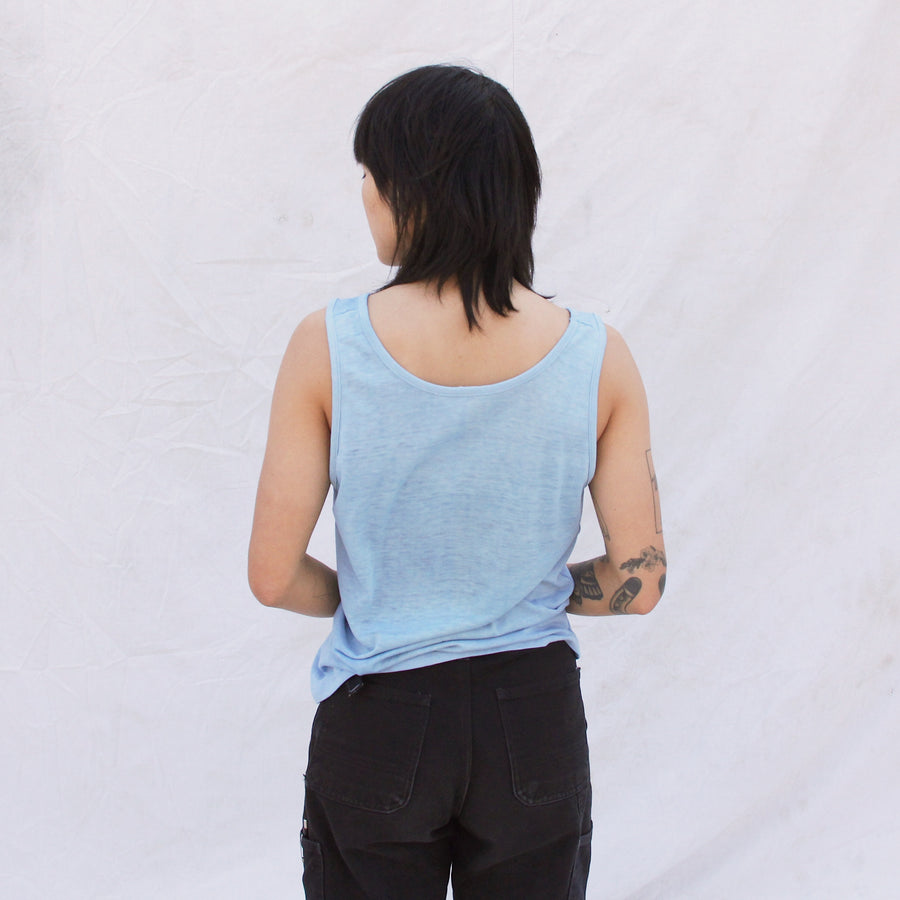 Indigo Thread bare Tank