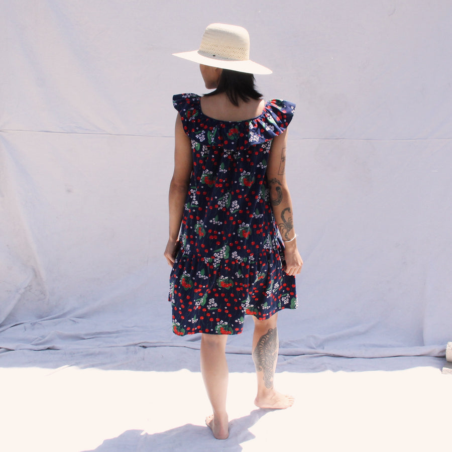 Cotton Cherry Dress