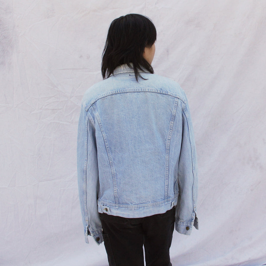 Denim Lee Jacket with Patch