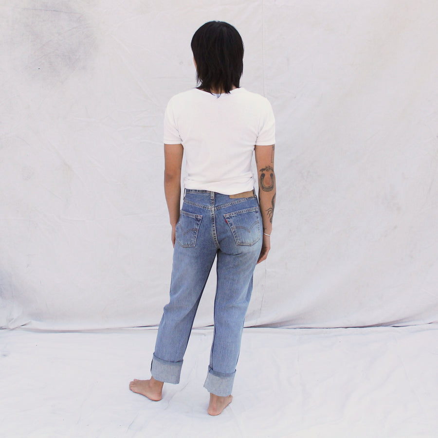 Vintage Levi 501 Made in USA Selvedge