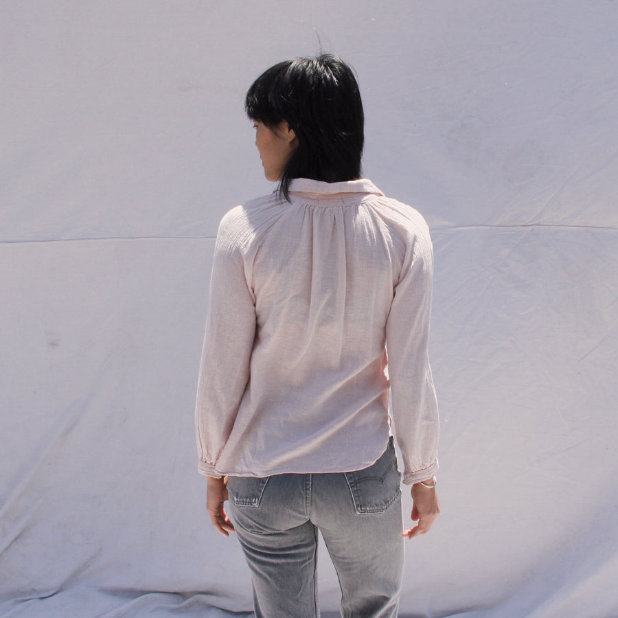 Light Pink Indian Cotton Blouse