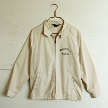 Cream Canvas Champion Jacket