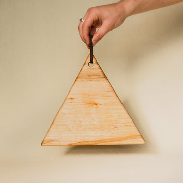 Wooden Triangle Cutting Board