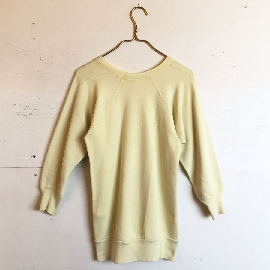 Light Yellow Sweatshirt