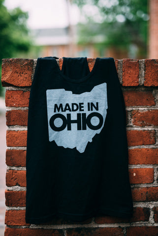 "Racerback ""Made in Ohio"" Tank"