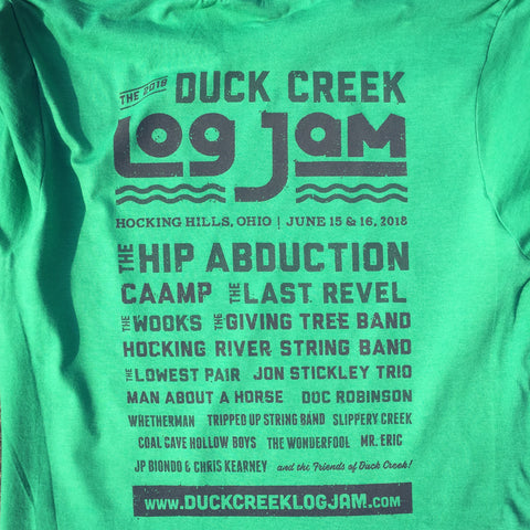 Duck Creek Log Jam Festival Shirt
