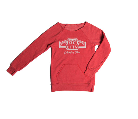 Arch City Ladies Crewneck
