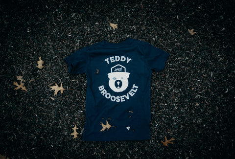 Teddy Broosevelt Tee (Blue)