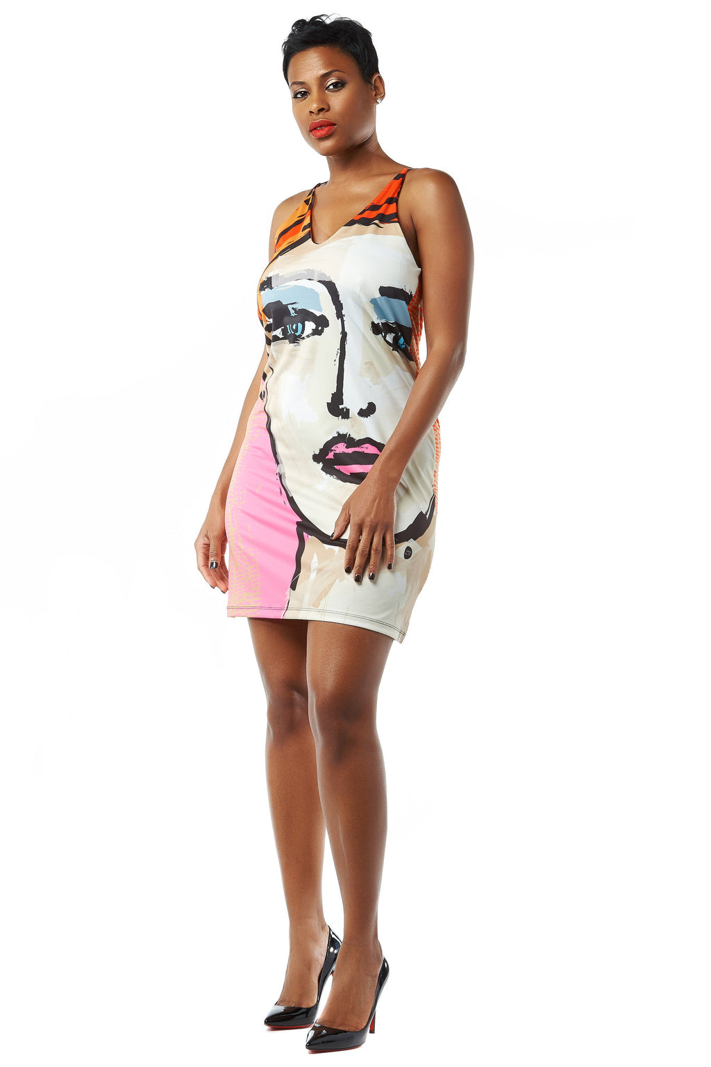 Eye to Eye Sleeveless Dress by Volt - LoveBeautyRocks