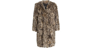 Anna Sui Rabbit Fur Coat - LoveBeautyRocks