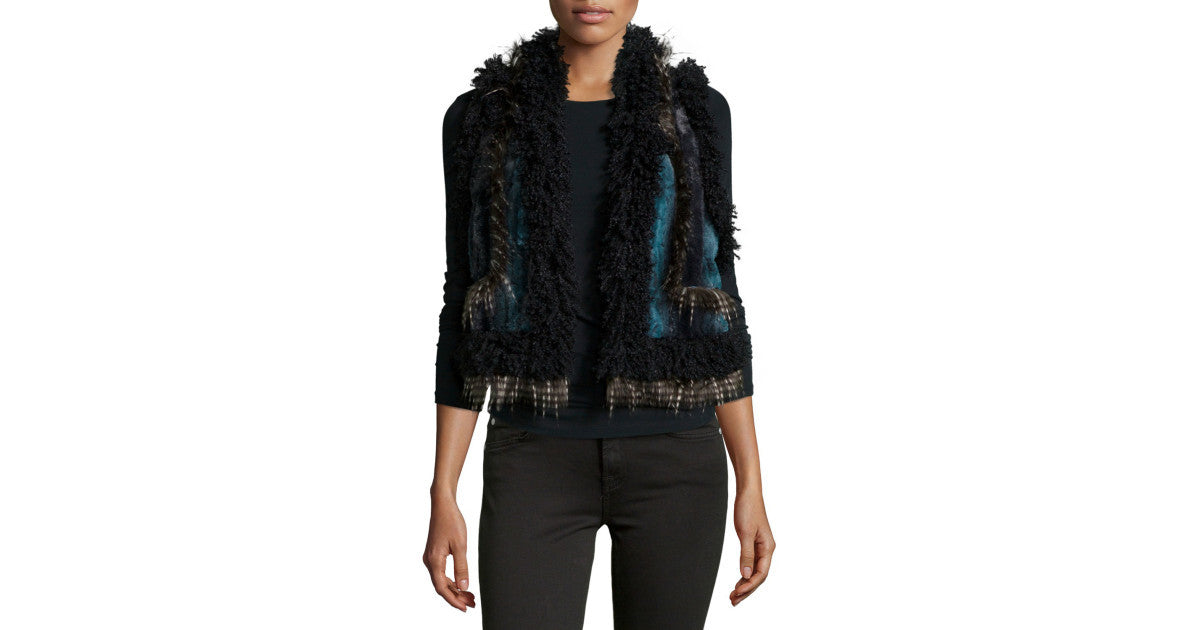 Anna Sui Multicolored Vest - LoveBeautyRocks