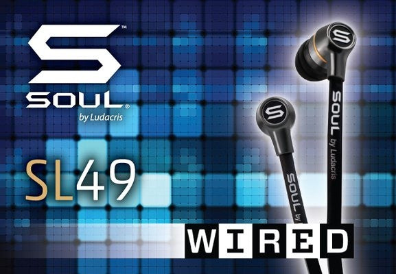 SOUL SL49 WINS WIRED'S HEADPHONE SHOWDOWN [ARTICLE]