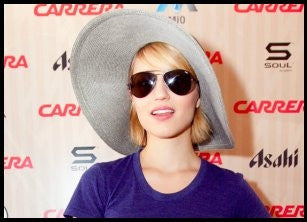 SOUL SPOTS... GLEE: 3D MOVIE STAR DIANNA ARGON
