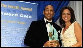 LUDACRIS RECEIVES THE SOLEDAD O'BRIEN FREEDOM'S VOICE AWARD