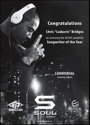 LUDA AWARDED ASCAP SONGWRITER OF THE YEAR