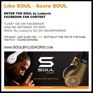 LIKE SOUL-SCORE SOUL CONTEST ANNOUNCED ON FACEBOOK!
