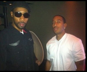 CATCHING UP WITH LUDACRIS - IN THE STUDIO WITH RZA