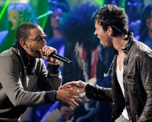 LUDACRIS PERFORMS AT THE AMERICAN MUSIC AWARDS