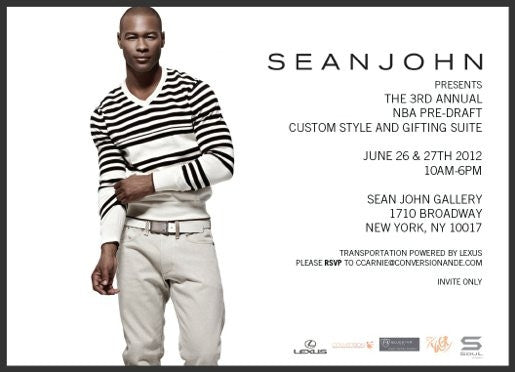 SOUL WELL SUITED FOR SEAN JOHN'S 2012 NBA PRE-DRAFT EVENT