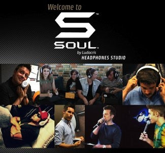 WELCOME TO THE SOUL BY LUDACRIS HEADPHONES STUDIO