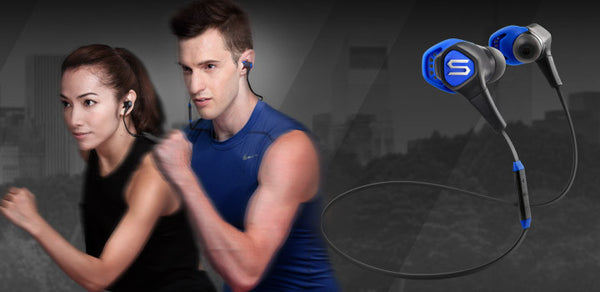 RUN FREE PRO, THE IN-EAR SPORTS HEADPHONE DESIGNED TO NEVER FALL OFF