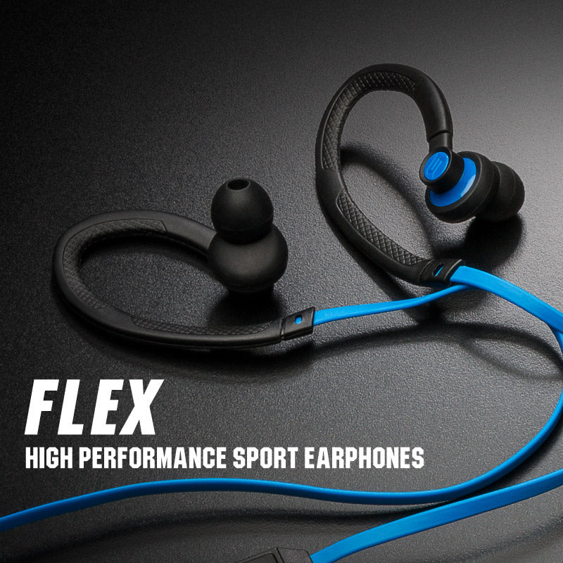 019b8ca7008180 The Flex is a beautifully engineered sport earphone that is made for your  active lifestyle. Ergonomically designed for comfort, the Flex's unique and  ...