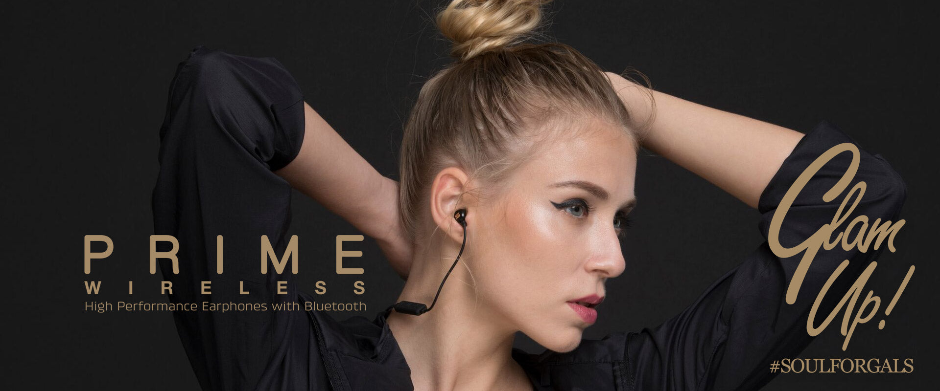 SOUL Electronics PRIME WIRELESS High Performance Earphones with Bluetooth