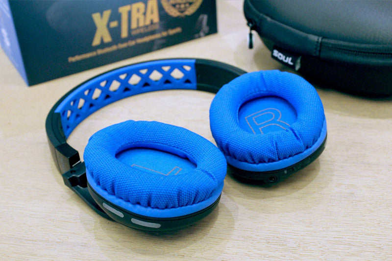 SOUL X-TRA Performance Bluetooth Over-Ear Headphones for Sports