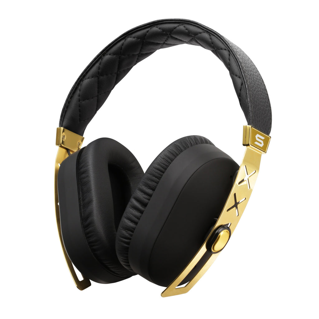 Jet Pro 24K Gold Hi Definition Noise Cancelling Headphones