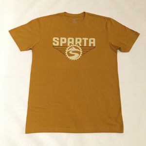 Open image in slideshow, Sparta Antique Gold Logo Tee