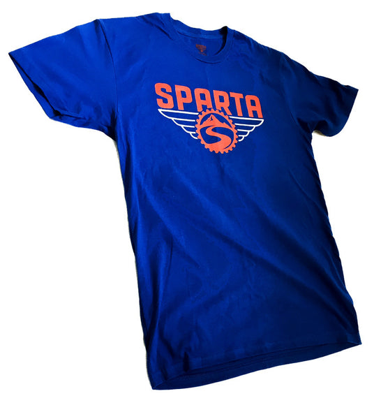 Blue/Red Logo T